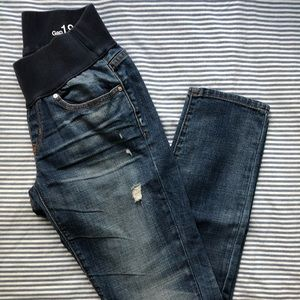 GAP 1969 maternity denim